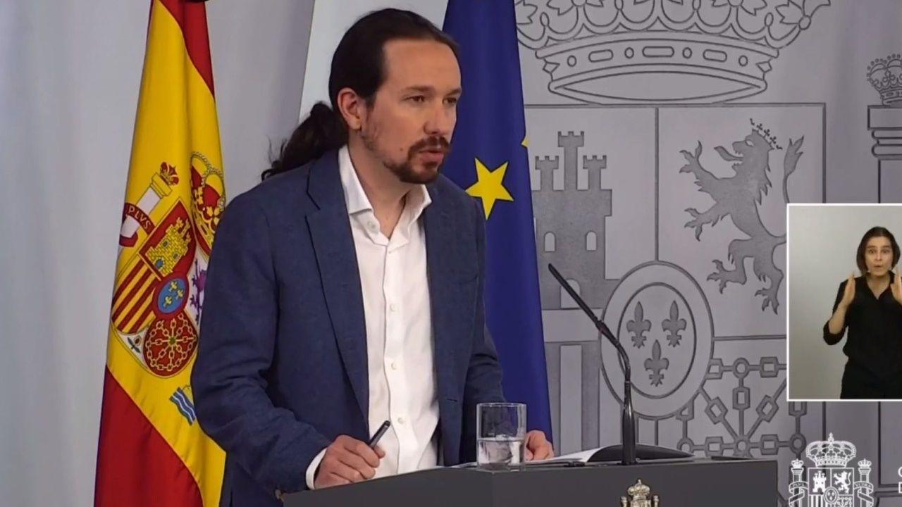 Montero, Iglesias y Escrivá comparecen tras el Consejo de Ministros extraordinario