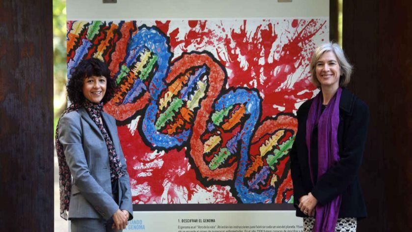 Emmanuelle Charpentier y Jennifer Doudna, en Oviedo