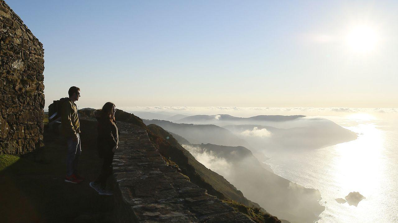 Vixía de Herbeira, en el límite entre Cariño y Cedeira