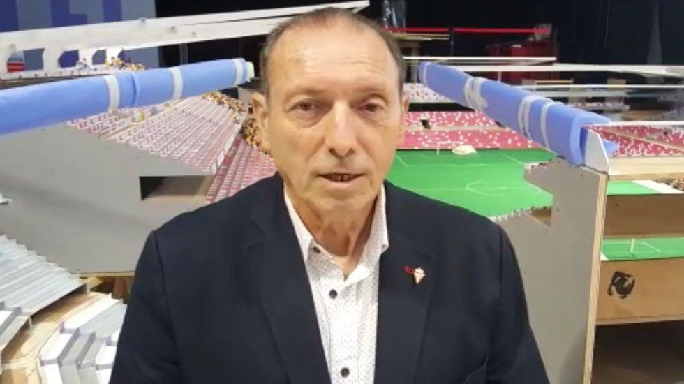 Los recuerdos gallegos de Vicente del Bosque.Fernando Hierro durante un partido de pretemporada