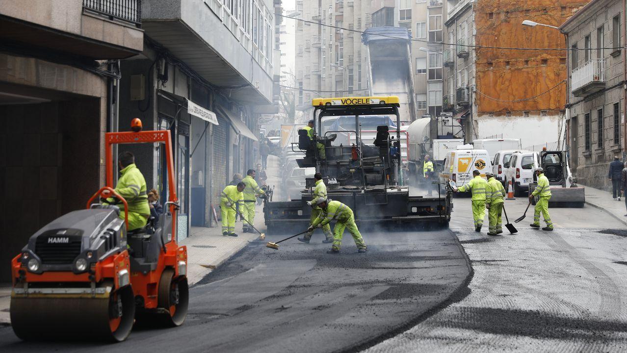 La calle Venezuela interrumpe su trayectoria en el entronque con la avenida Nicasio Pérez