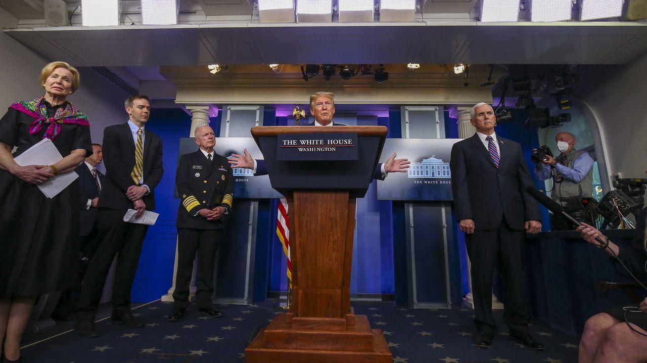 Trump anunció en Twitter que suspenderá temporalmente la inmigración a EE.UU.