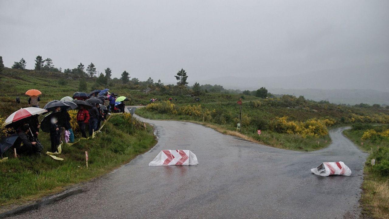 El Rali de Ourense en el tramo de Esgos