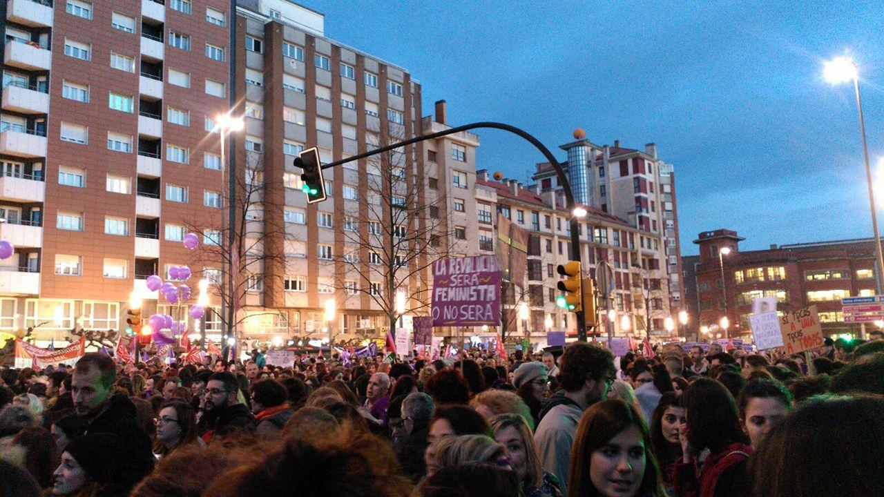 Manifestación del 8M en Asturias