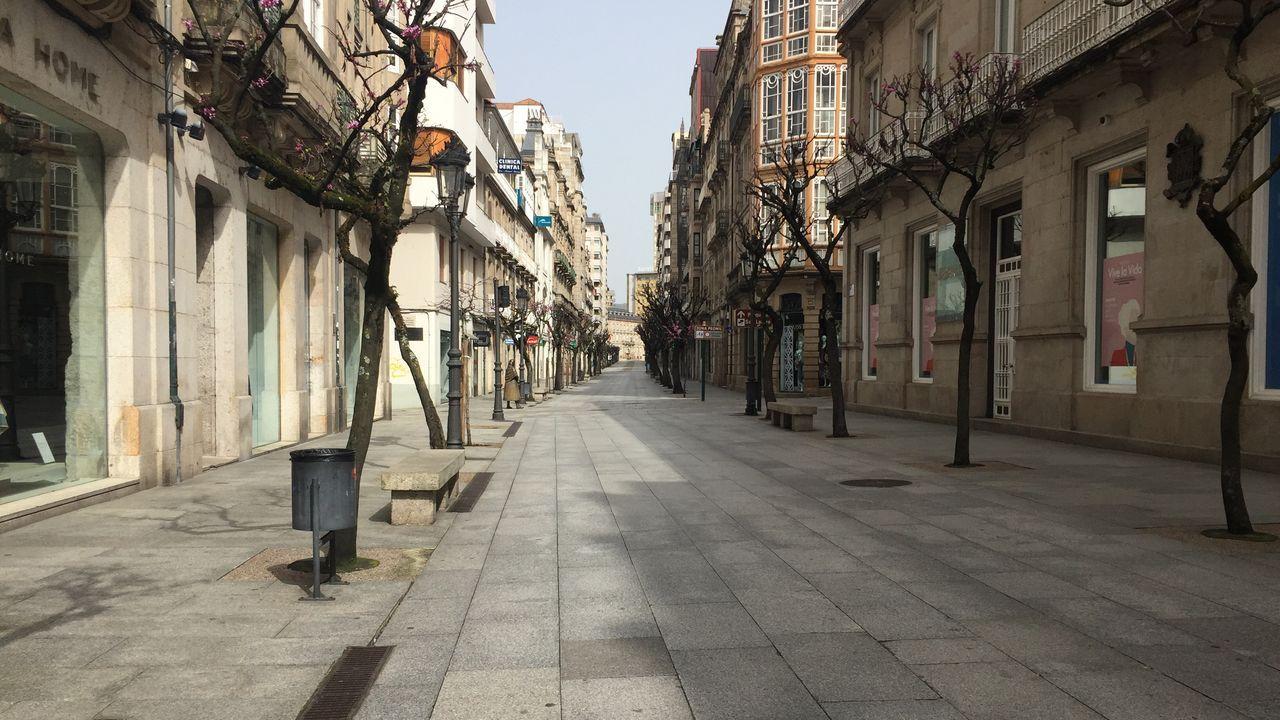 El Ejército regresó este miércoles a Ourense