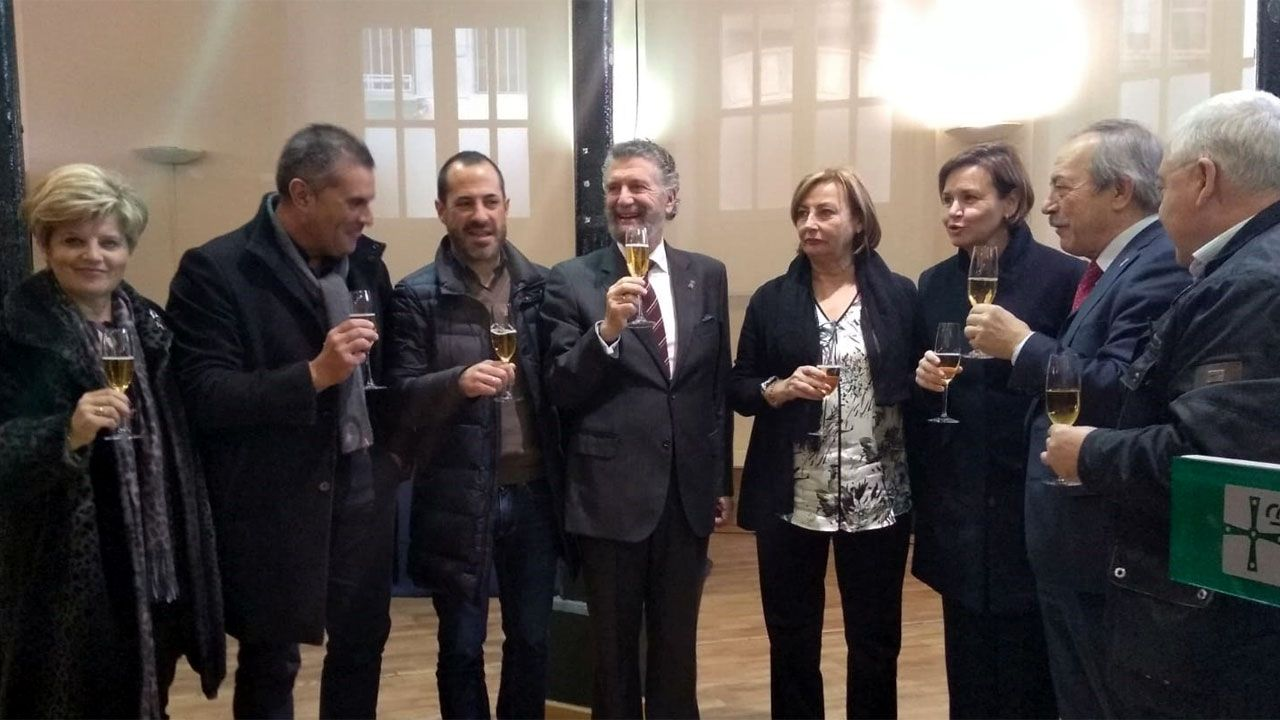 Brindis navideño 2018 de los alcaldes y alcaldesas asturianos