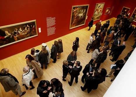 Exposición en el Museo de Belas Artes.