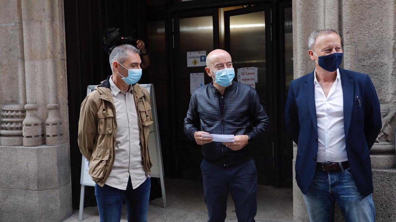 Los concejales de la oposición se reunieron estos días para abordar la posibilidad de una moción de censura