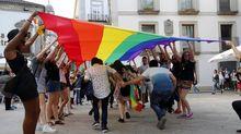 Manifestación del Orgullo Gay LGTB, en Vigo