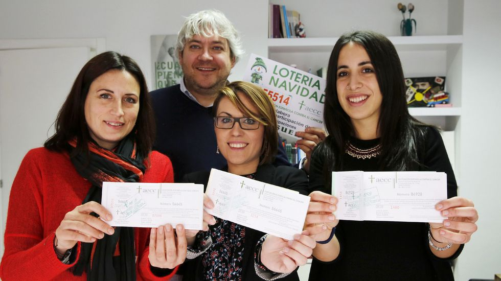 La Asociación de Lucha contra el Cáncer de Ourense busca la terminación que coincida con el año.