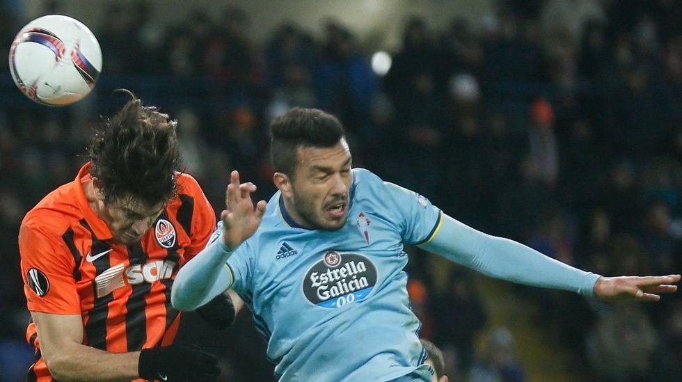 Las mejores imágenes del Celta - Espanyol.John Guidetti se consolida como titular.