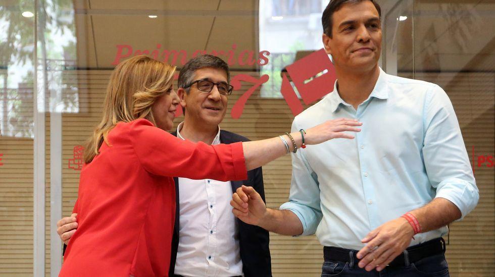 El debate del PSOE, en imágenes.La presidenta del Gobierno Balear, Francina Armengol