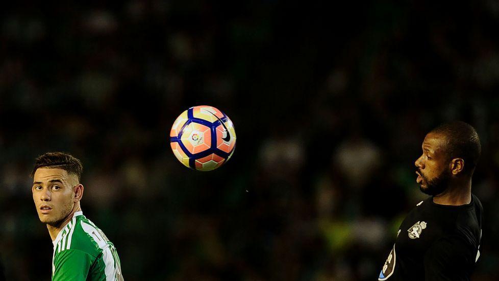 El Betis-Deportivo, en fotos.Borja Domingo, durante el partido contra el Choco