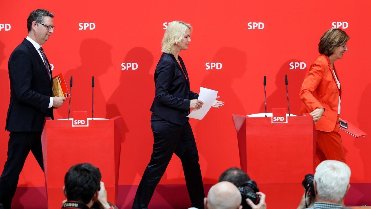 Toni Roldán abandona Ciudadanos por su giro a la derecha.El partido ha optado por un trío para asumir las riendas de manera interina: Thorsten Schäfer-Gümbel, Manuela Schwesig y Malu Dreyer