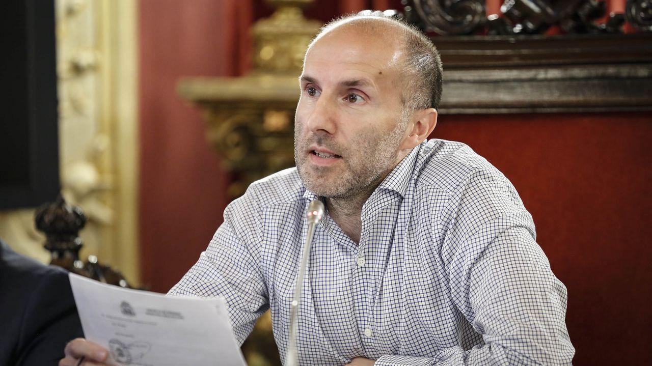 Belén del Concello en Bispo Cesáreo.José Manuel Baltar, presidente de la Diputación ourensana