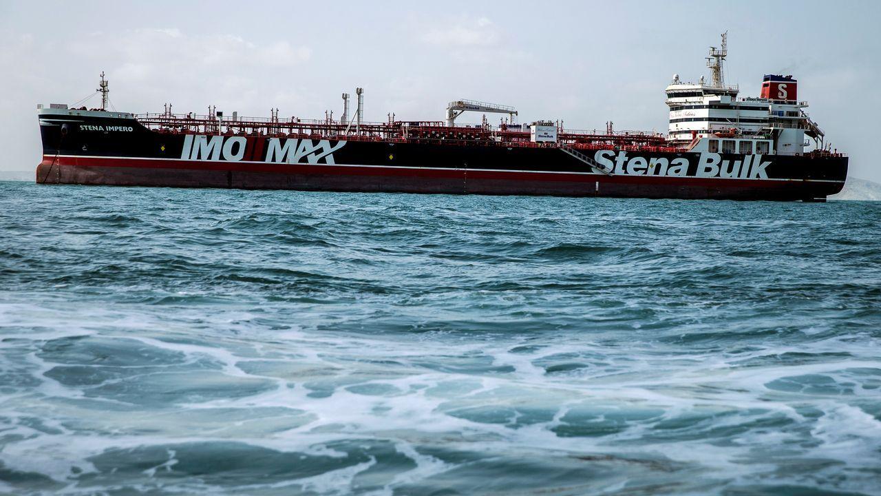 El Stena Impero, que llevaba dos meses retenido en el puerto iraní de Bandar Abas