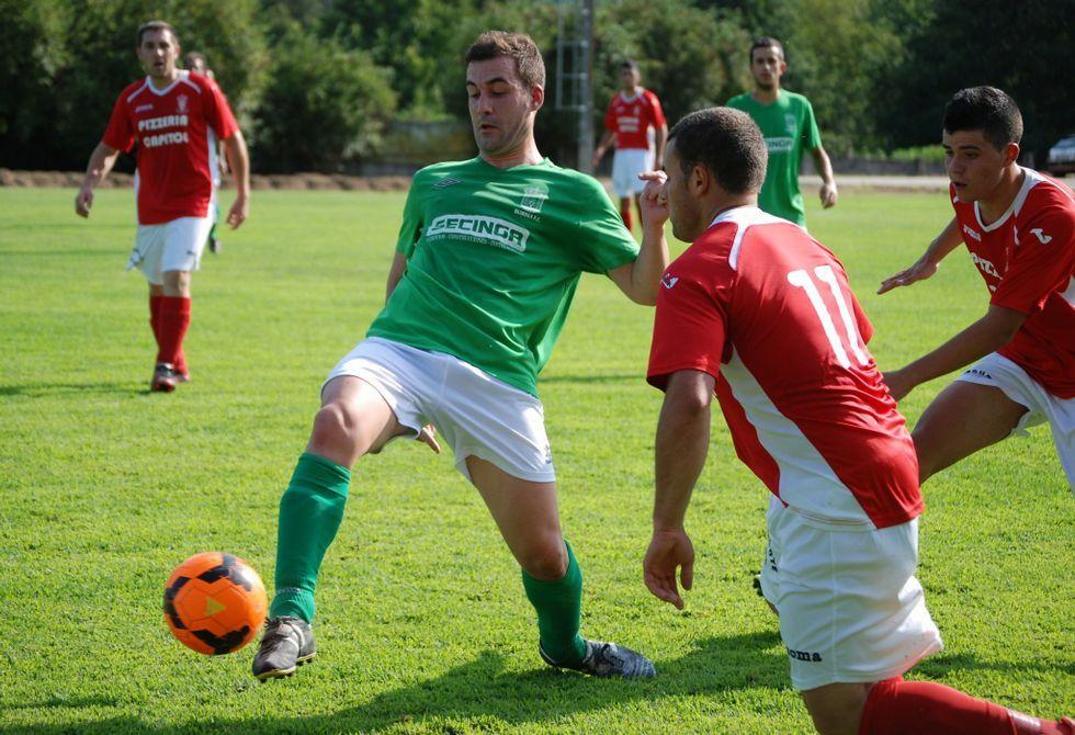 Los futbolistas del Brollón afrontan el partido ante el Chantada Atlético sin presión.