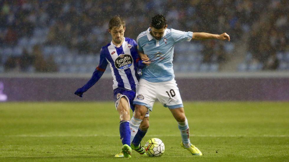Celta - Deportivo, en imágenes