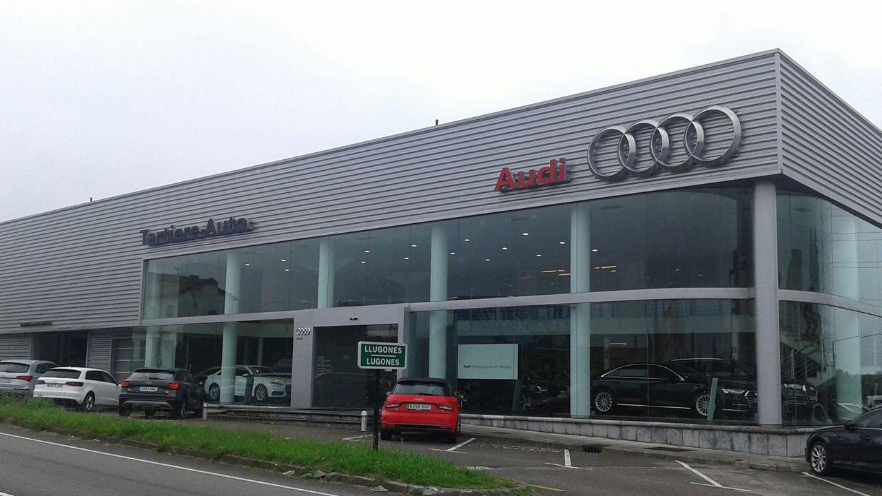 Instalaciones del concesionario de Audi de Tartiere Auto