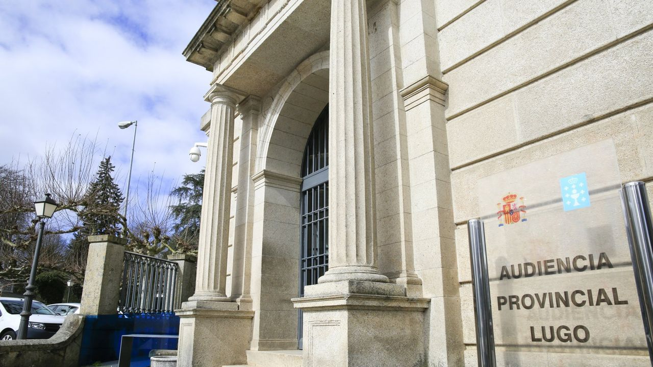 Exteriores de la Audiencia Provincial de Lugo