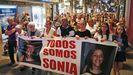 Manifestación en el 2018 en recuerdo de Sonia Iglesias, en Pontevedra
