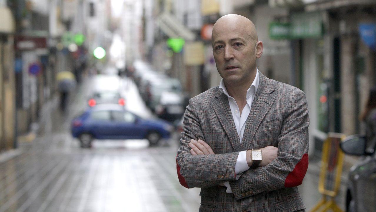 García Nores, presidente del CCA A Magdalena, en una foto de archivo