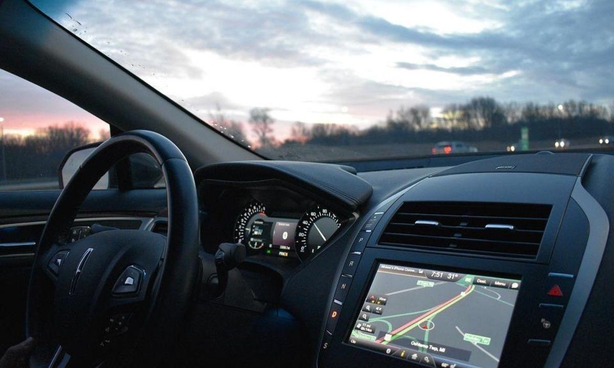 GPS en un coche