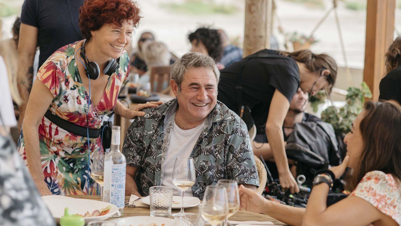 libros.Sergi López con Icíar Bollaín en «La boda de Rosa»