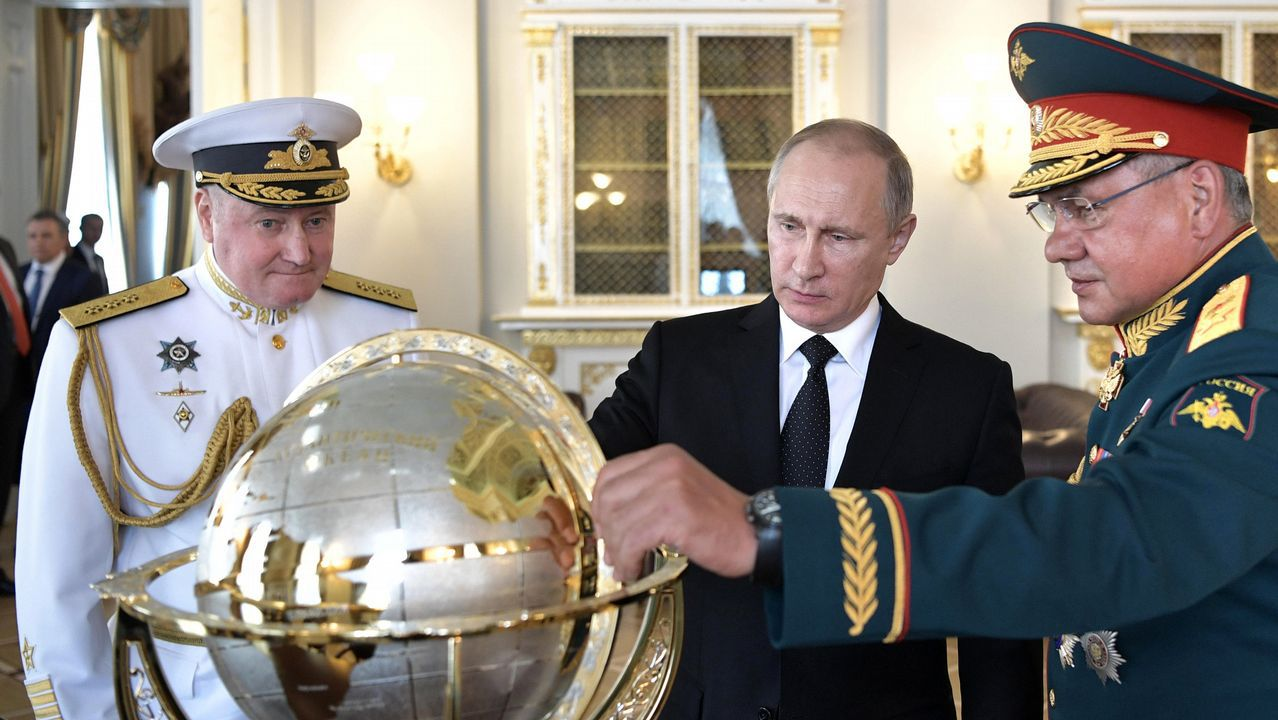 Putin de vacacionesen Siberia.Imagen del vídeo subido por Alekséi Navalny