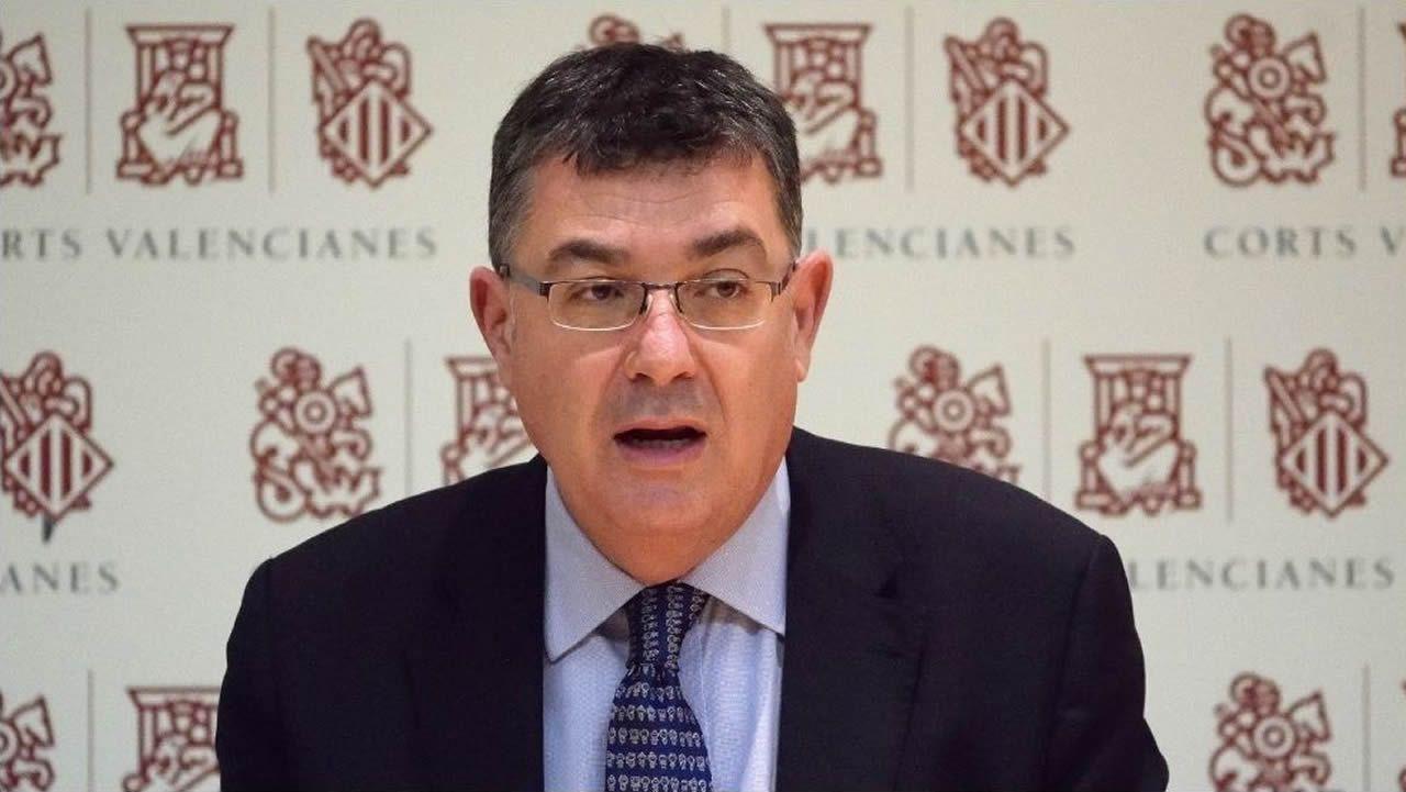 Enric Morera es el presidente del Parlamento autonómico valenciano