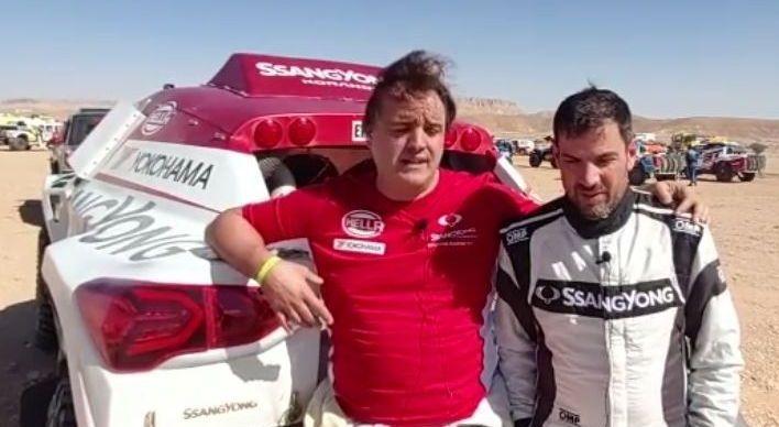 Alonso, en el Dakar
