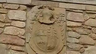 La imagen del pazo de Abegondo figuraba en la web en la que se anunciaba la venta del edificio, un anuncio que ahora ha desaparecido del portal