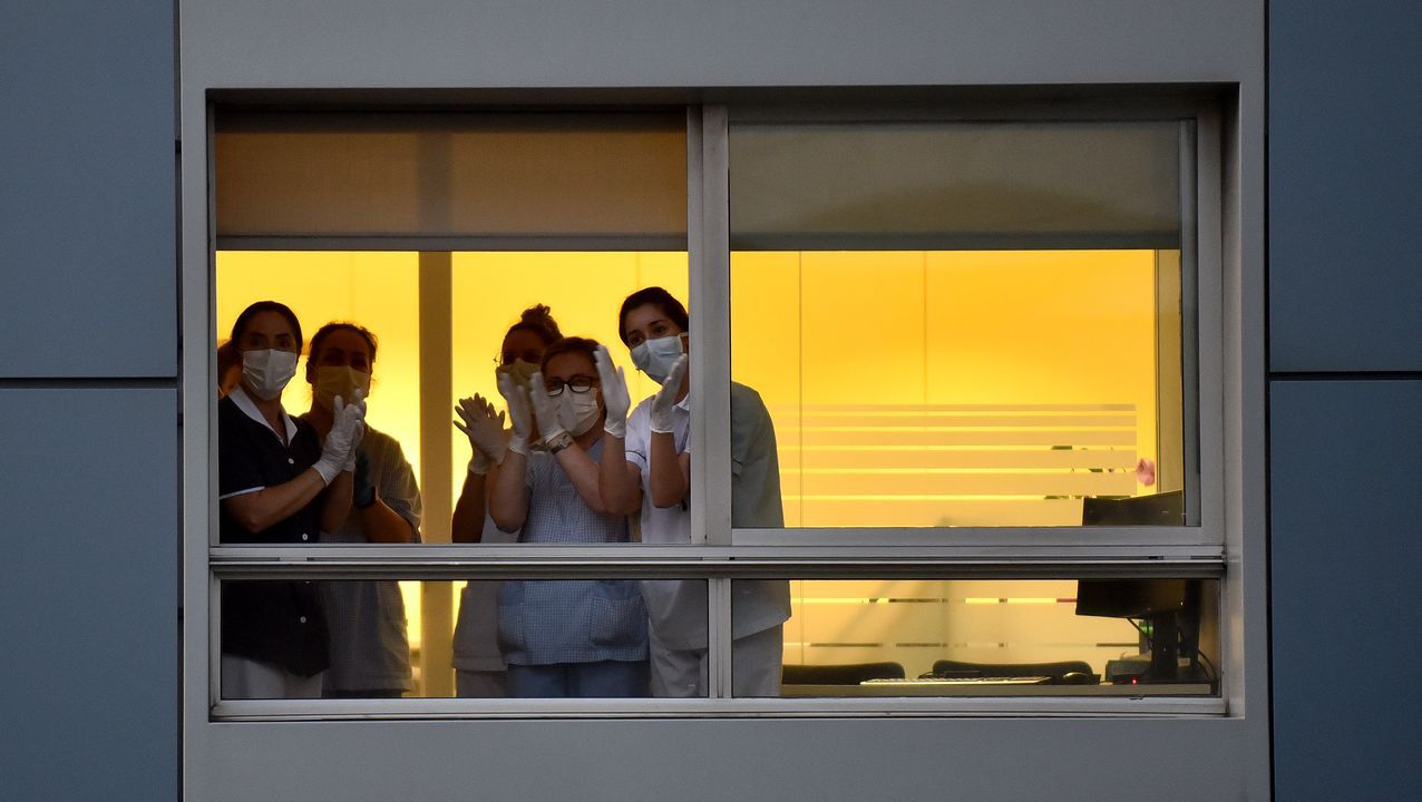 En directo: comparecencia de los ministros Ábalos y Robles.Hospital Clínico de Salamanca