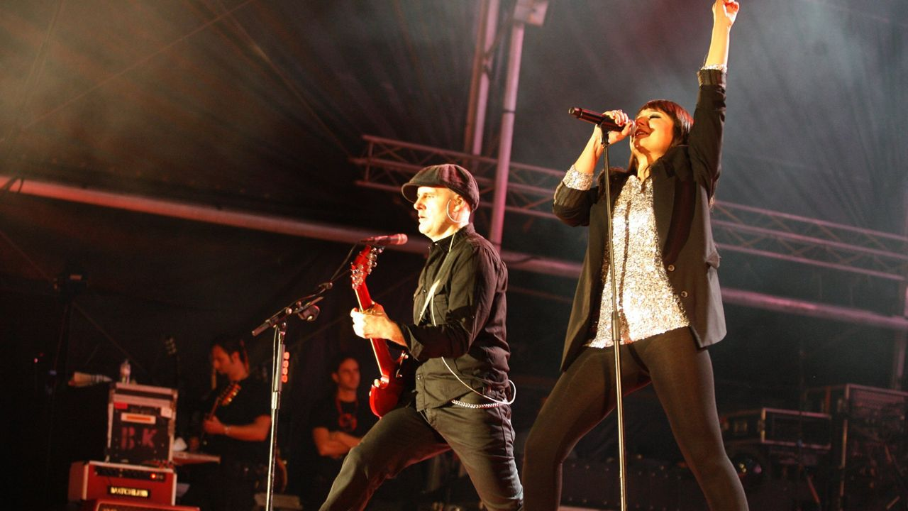 Amaral, en concierto en el San Froilán de 2009