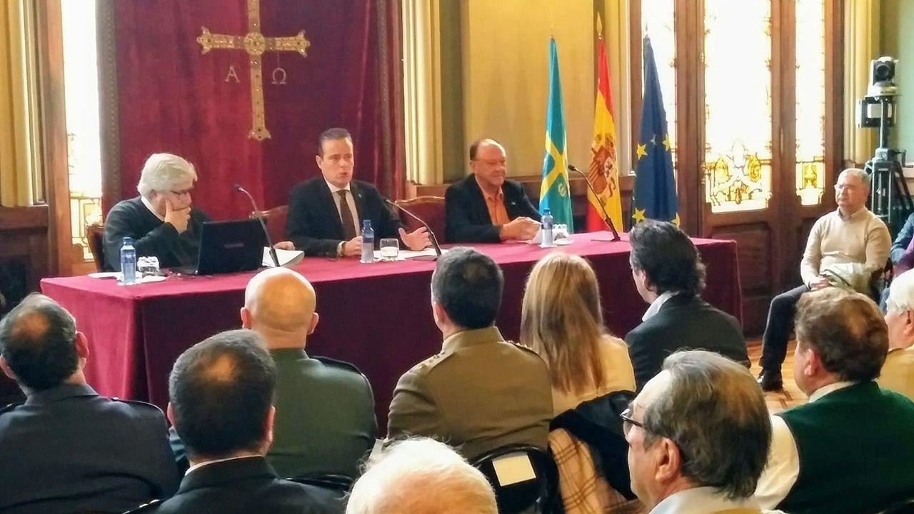 Conferencia del profesor Francisco Carantoña sobre el general Del Riego