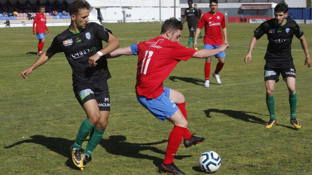 Aniversario futbolístico en Verín.El Atlético Arnoia y el Barbadás se enfrentarán con el pase para la fase de ascenso ganado