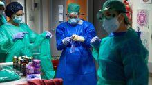 Profesionales de enfermería.