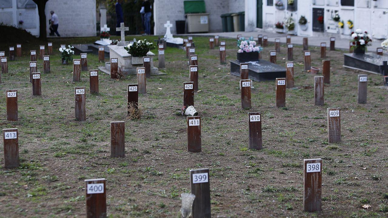 Cementerio de Santa María de Oza, en A Coruña