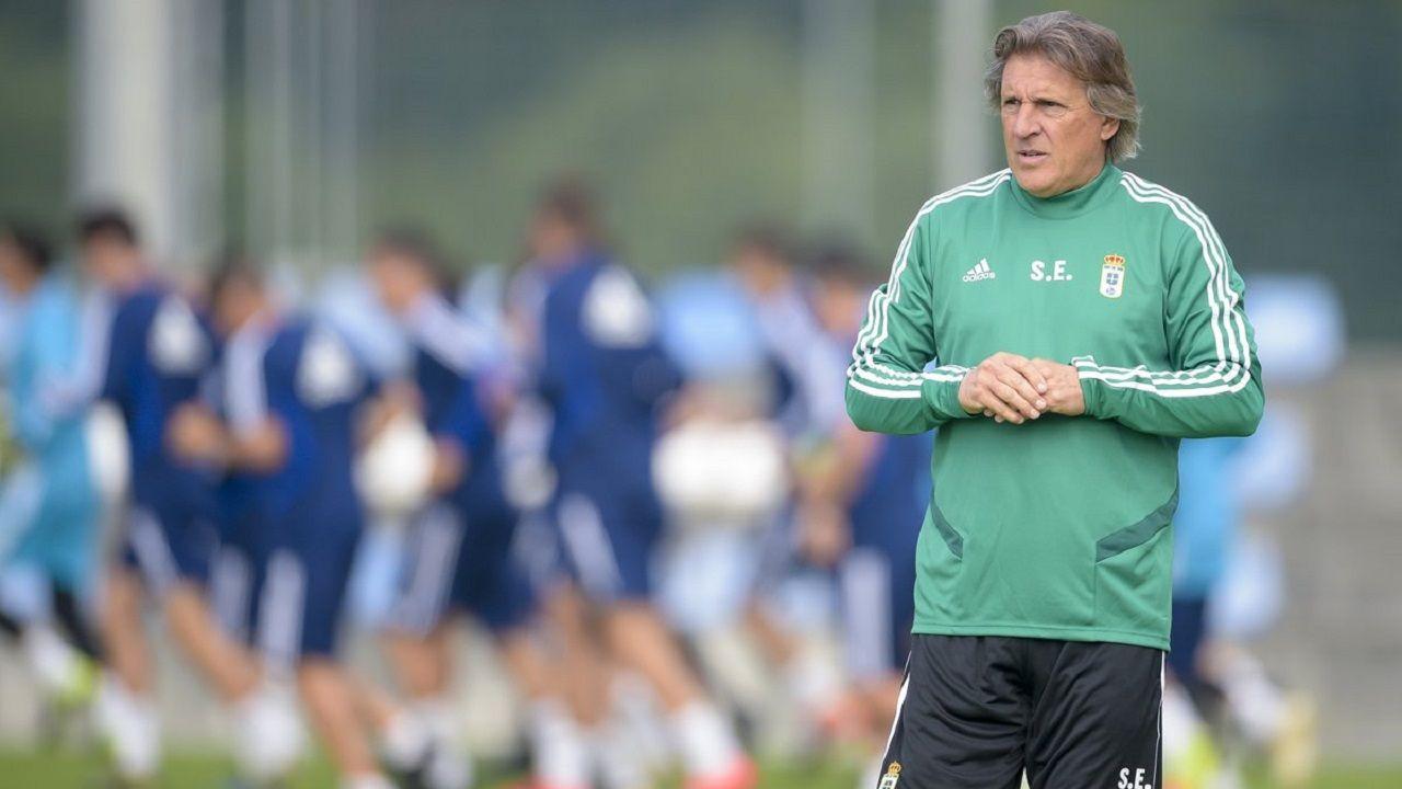 convocatoria entrenamiento Requexon Real Oviedo.Sergio Egea en El Requexón