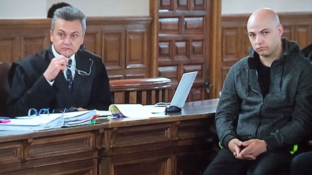 Arranca el juicio oral contra Sergio Morate.El arzobispo de Oviedo, Jesús Sanz, en Covadonga
