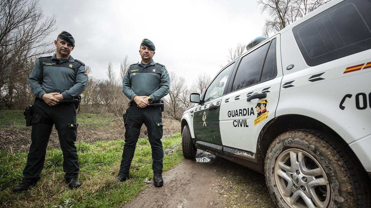 Golpe en Portugal a la venta de bivalvos contaminado.Guarda rural