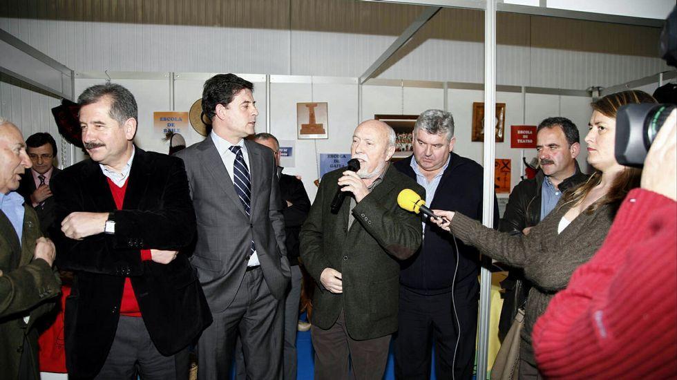 La noche electoral el Lugo.Cada partido puso en juego sus mejores recursos en la última jornada de la campaña.
