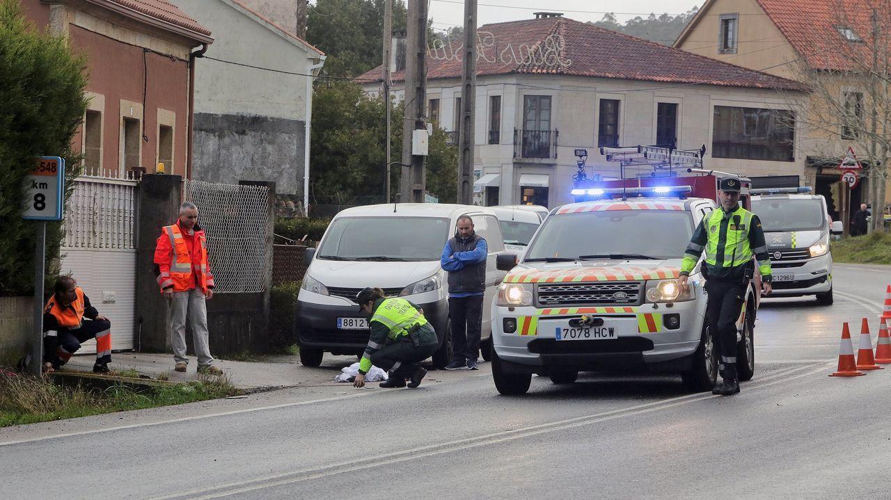 ELVIRA TEJADA DE LA FUENTE, FISCALA DE CRIMINALIDAD INFORMATICA.CONDUCTOR PEATÓN A finales de enero murió atropellado un conductor en Catoira tras bajarse de su furgoneta