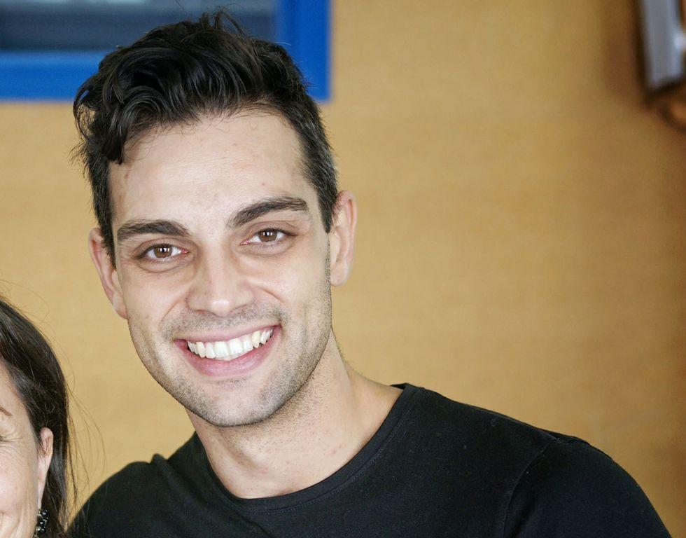 Famosas «golpeadas»contra la violencia de género.Zósimo López está vinculado a la universidad y también trabajó en promotoras de conciertos.