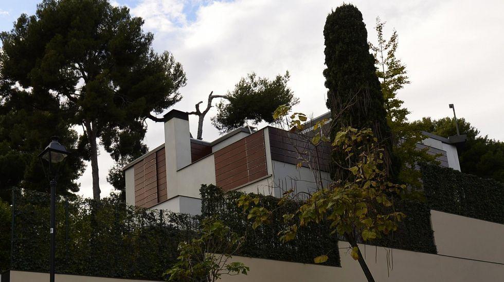 Imagen de archivo del palacio de Pedralbes.