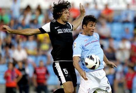 Bermejo fue de los futbolistas destacados en el primer triunfo del Celta esta temporada.