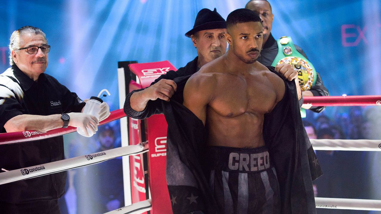 Bohemian Rhapsody.Fotograma del filme «Creed II: La leyenda de Rocky»