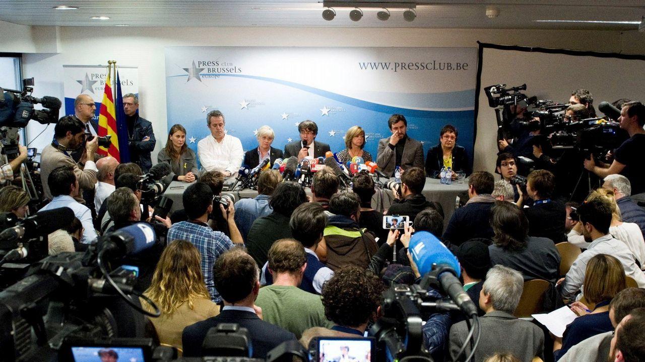 Puigdemont y Colau le dan la vuelta al tablero de las elecciones.Imagen de las últimas elecciones autonomicas celebradas en Cataluña