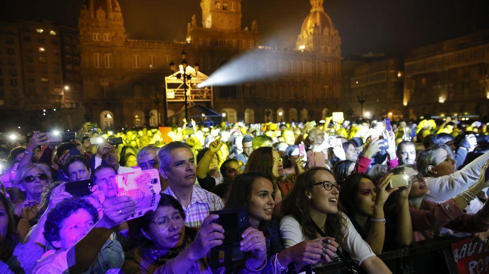 monotitih.Fiestas de Mería Pita en A Coruña