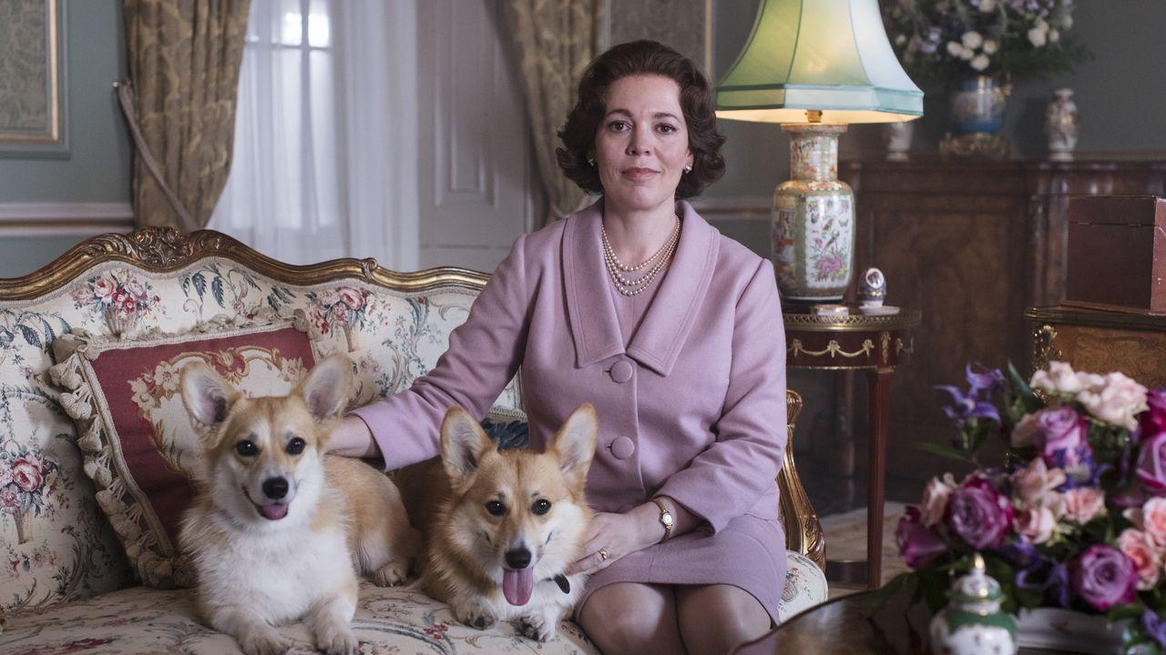 Las princesas Eugenia y Beatriz, con el príncipe Andrés.